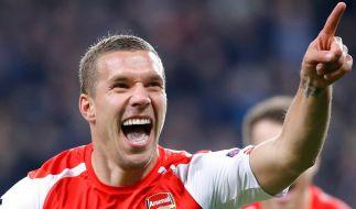 Lukas Podolski wechselt nach Istanbul. (Foto)