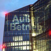 Lichtinstallation an EZB-Zentrale: «Außer Betrieb» (Foto)