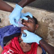 Am Killer-Virus sterben wieder Menschen in Westafrika (Foto)