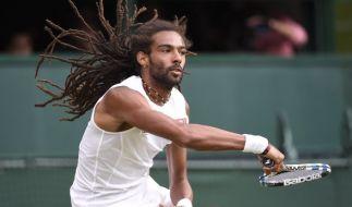 Der 30-jährige Dustin Brown spielte im Wimbledon-Match gegen Rafael Nadal das Match seines Lebens. (Foto)
