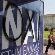 Griechenland vor Volksabstimmung gespalten (Foto)