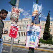 Griechenland stimmt über Sparkurs ab (Foto)