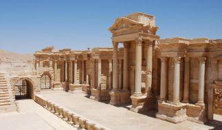 Anfang Juli 2015 erschossen die Fanatiker der ISIS eine Reihe von Geiseln im antiken Theater von Palmyra. (Foto)