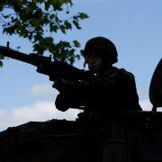 Bundeswehr beteiligt sich an Manövern in der Ukraine (Foto)