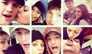Ashton Kutcher und Milas Kunis haben heimlich geheiratet. (Foto)