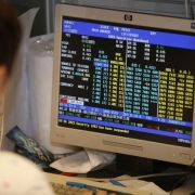 Chinas Börsen fahren Achterbahn (Foto)
