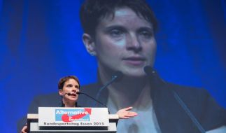 Seit dem Bundesparteitag der AfD in Essen ist Frauke Petry neue Vorsitzende der Alternative für Deutschland. (Foto)