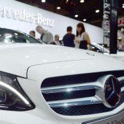 Daimlers Autoverkäufe ziehen im Juni weiter an (Foto)