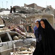 Irakische Luftwaffe bombardiert versehentlich Bagdad (Foto)
