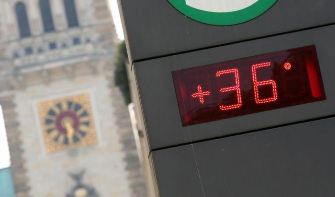 36 Grad und es wird noch heißer... Deutschland hat den Hitzerekord geknackt. Am 5. Juli 2015 wurden im bayrischen Kitzingen 40,3° gemessen. (Foto)
