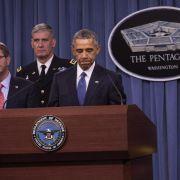 Obama rechnet mit langem Militäreinsatz gegen IS (Foto)