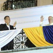 Papst Franziskus warnt in Ecuador vor «hochtönigen Worten» (Foto)
