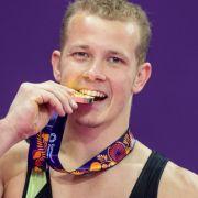 Fabian Hambüchen holt Reck-Goldmedaille (Foto)