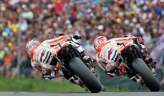Zum Großen Preis von Deutschland gastiert die MotoGP auf dem Sachsenring. (Foto)