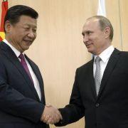Putin beginnt Doppelgipfel in Ufa (Foto)