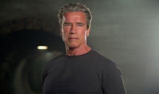 Auch die menschliche Hülle eines Terminators kann altern: Arnold Schwarzenegger in seiner Paraderolle. (Foto)