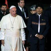 Papst bekommt Koka-Blätter - Bolivianer feiern Franziskus (Foto)