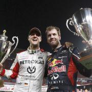 Mit diesen Tipps hilft Schumi Sebastian Vettel (Foto)