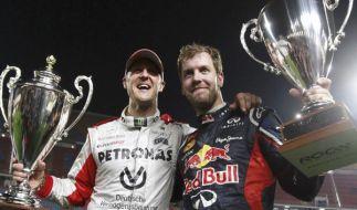 Schumacher und Vettel alleine als auch gemeinsam erfolgreich: Hier beim Race of Champion (Foto)