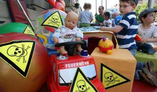 Pures Gift: Schadstoffe in Kinderspielzeugen häufiger als gedacht. (Foto)