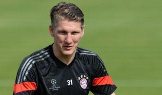 Bastian Schweinsteiger: Interesse aus England schmeichelt ihm. (Foto)