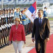 Merkel: EU-Beitrittsperspektive für Balkan-Länder wichtig (Foto)
