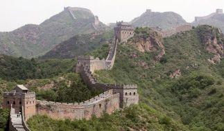 Die Chinesische Mauer verschwindet mehr und mehr. (Foto)