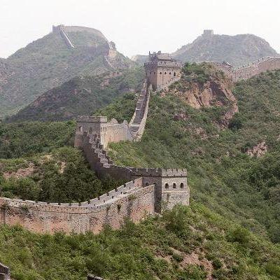 Chinesische Mauer löst sich auf (Foto)