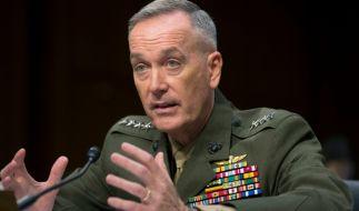 US-General Joseph Dunford Jr. schockte im US-Kongress mit einem Vergleich: Wladimir Putin und Russland seien eine größere Bedrohung für die USA als China, Nordkorea und die Terrormiliz ISIS. (Foto)