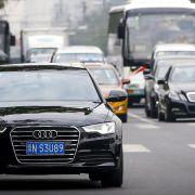 Chinesen kaufen weniger Audis (Foto)