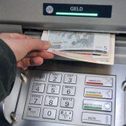 Datenklau am Geldautomaten nimmt ab (Foto)