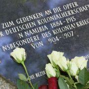 Bundesregierung nennt Namibia-Massaker jetzt «Völkermord» (Foto)