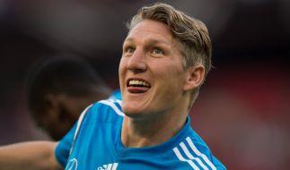 Nach 17 Jahren Bayern München zieht es Bastian Schweinsteiger auf die Insel. (Foto)