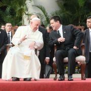 Papst Franziskus lobt demokratischen Prozess in Paraguay (Foto)