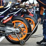 Weniger Crashs durch neue Bridgestone-Reifen (Foto)