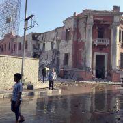 Bombenanschlag vor italienischem Konsulat in Kairo (Foto)