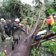 China bringt eine Million Menschen vor Taifun in Sicherheit (Foto)
