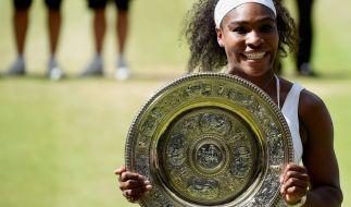 Serena Williams macht den Serena-Slam perfekt. (Foto)