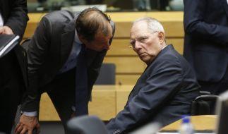 Finanzminister Wolfgang Schäuble. (Foto)