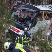 Busse mit deutschen Jugendlichen verunglückt (Foto)