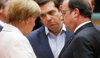 Staatschefs entscheiden über Zukunft Griechenlands. (Foto)