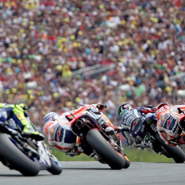 Rossi-Mania in der MotoGP - doch Márquez siegt (Foto)