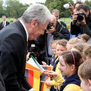 Staatsbesuch: Gauck lobt irische Reformen (Foto)