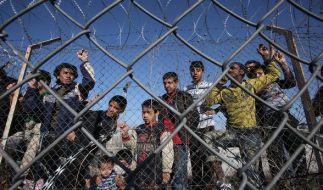 Flüchtlinge werden in Ungarn bald durch einen Grenzzaun aufgehalten. (Foto)