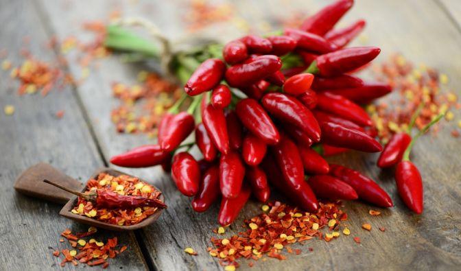 Chili, Peperoni, Pfeffer