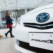Toyota ruft in Deutschland mehr als 19 000 Fahrzeuge zurück (Foto)