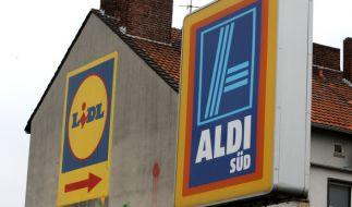 Zwischen Aldi und Lidl ist ein neuer Preiskampf ausgebrochen...Ein Ende ist vorerst nicht in Sicht. (Foto)