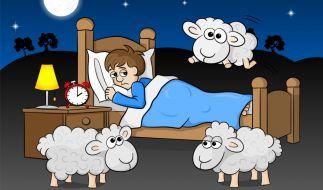 Zu wenig Schlaf ist schädlich. (Foto)