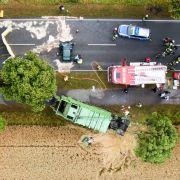 Frontaler Zusammenprall mit Müllwagen - 2 Todesopfer! (Foto)