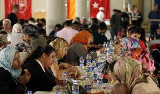 Mit dem Fest des Fastenbrechens endet der Ramadan. (Foto)